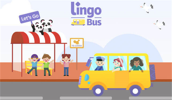 Lingo Bus Cartoon