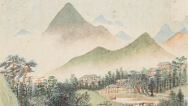 A traditional Chinese painting