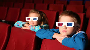 Two boys in Cinema