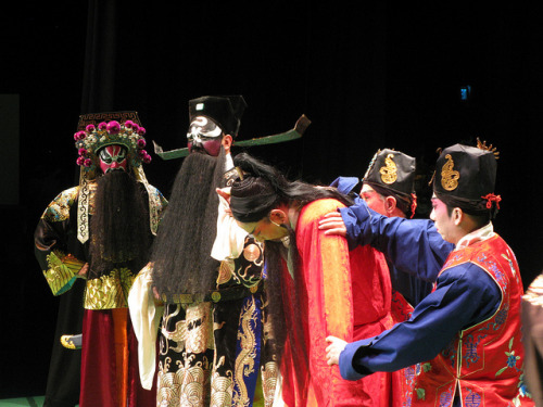 A figure of the Jing role in Beijing Opera