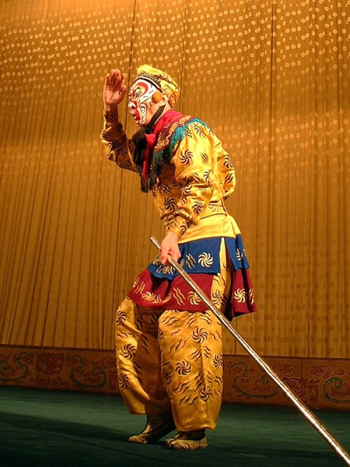 Monkey King in Beijing Opera
